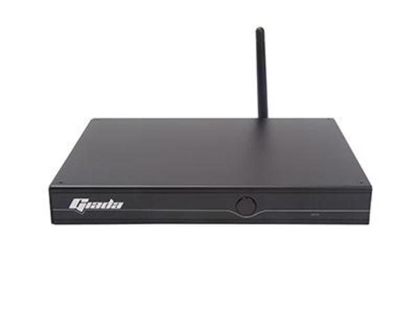 Giada i59U-B3000 - Mini-PC - 1 x Core i3 6100U / 2.3 GHz - RAM 4 GB - SSD 60 GB - HD Graphics 520