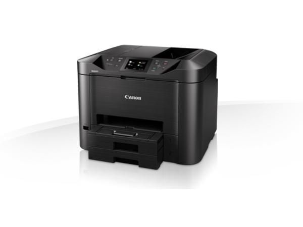 Canon MAXIFY MB5450 - Multifunktionsdrucker - Farbe - Tintenstrahl - A4 (210 x 297 mm), Legal (216 x 356 mm) (Original) - A4/Legal (Medien) - bis zu 22 Seiten/Min. (Kopieren) - bis zu 24 ipm (