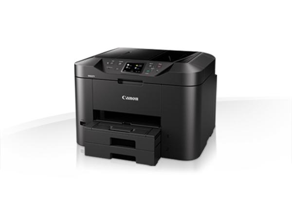 Canon MAXIFY MB2755 - Multifunktionsdrucker - Farbe - Tintenstrahl - A4 (210 x 297 mm), Legal (216 x 356 mm) (Original) - A4/Legal (Medien) - bis zu 22 Seiten/Min. (Kopieren) - bis zu 24 ipm (