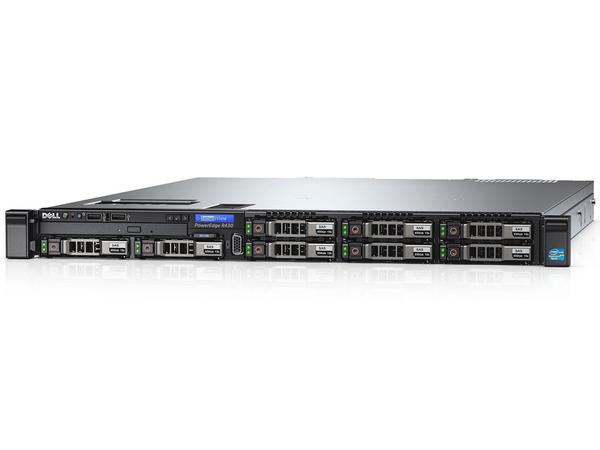 Dell PowerEdge R430 - Server - Rack-Montage - 1U - zweiweg - 1 x Xeon E5-2603V4 / 1.7 GHz