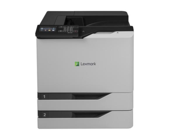 Lexmark CS820dte, 1200 x 1200 DPI, 200000 Seiten pro Monat, PCL 5c,PCL 6,PPDS,PostScript 3, Laser, Schwarz, Cyan, Magenta, Gelb, 2500 - 25000 Seiten pro Monat