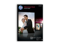 Premium Plus High-gloss Photo Paper-25 sht/10 x 15 cm borderless