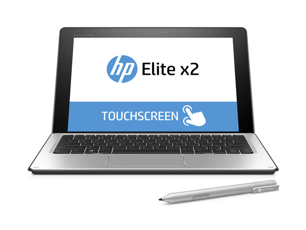 HP Elite x2 1012 G1 + Elite Top Load Colombian Leather Case, Ultrabook, Silber, Austauschbar (Abnehmbar), 1,2 GHz, Intel Core M, m7-6Y75