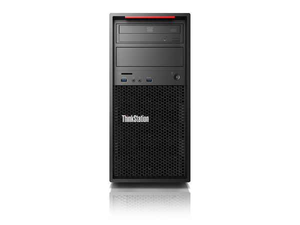 Lenovo ThinkStation P410 30B3 - Tower - 1 x Xeon E5-1620V4 / 3.5 GHz - RAM 8 GB - SSD 256 GB - TCG Opal Encryption