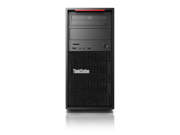 Lenovo ThinkStation P410 30B3 - Tower - 1 x Xeon E5-1650V4 / 3.6 GHz - RAM 16 GB - SSD 256 GB - TCG Opal Encryption
