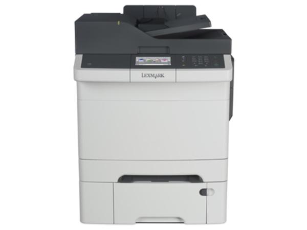 Lexmark CX410dte, Laser, Colour printing, Colour copying, Colour scanning, Colour faxing, 75000 Seiten pro Monat