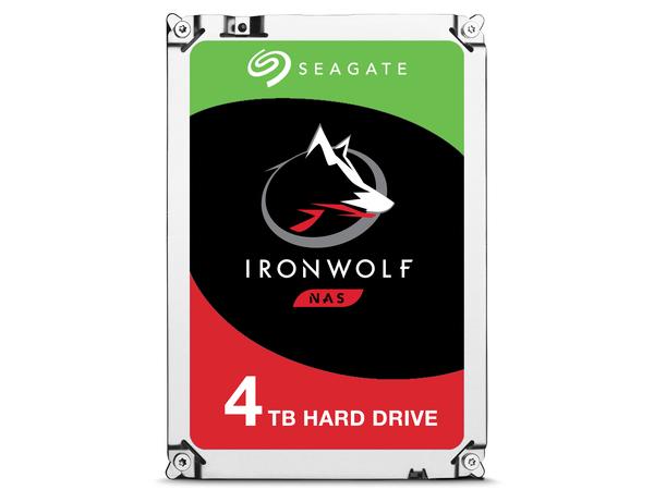 Seagate IronWolf ST4000VN008 - Festplatte - 4 TB - intern - 8.9 cm (3.5