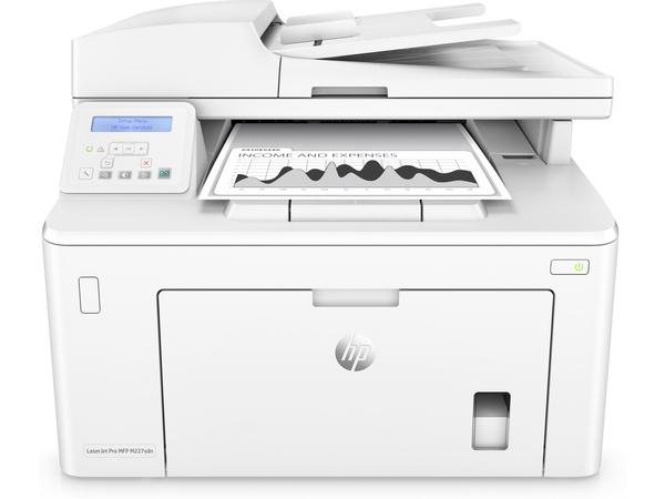 HP LaserJet Pro MFP M227sdn - Multifunktionsdrucker - s/w - Laser - Legal (216 x 356 mm) (Original) - A4/Legal (Medien)
