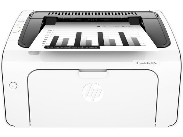 HP LaserJet Pro M12w - Drucker - monochrom - Laser - A4/Legal - 600 x 600 dpi