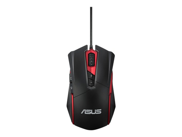 ASUS Espada GT200 Gaming - Maus - optisch - 6 Tasten - verkabelt - USB