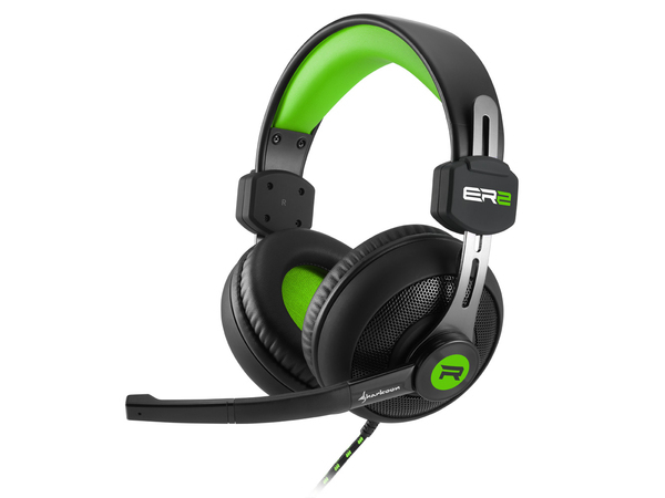 Sharkoon Rush ER2 - Headset - Full-Size - grün