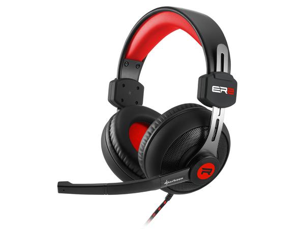 Sharkoon Rush ER2 - Headset - Full-Size - Rot