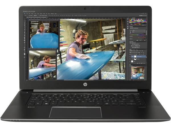 HP ZBook Studio G3 + ZBook 150W Thunderbolt 3 Dock, Schwarz, Ultrabook, Klappgehäuse, 2,7 GHz, Intel® CoreTM i7 der sechsten Generation, i7-6820HQ