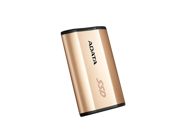 ADATA SE730 - Solid-State-Disk - 250 GB - extern (tragbar) - USB 3.1 Gen 2 - Gold