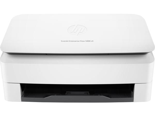 HP ScanJet Enterprise Flow 5000 s4 Sheet-feed Scanner - Dokumentenscanner - Duplex - 215.9 x 3098.8 mm - 600 dpi x 600 dpi - bis zu 55 Seiten/Min. (einfarbig) / bis zu 45 Seiten/Min. (Farbe)