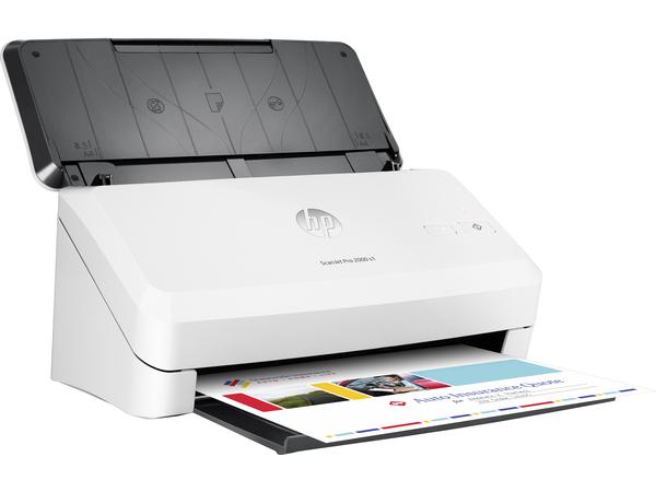 HP Scanjet Pro 2000 s1 Sheet-feed Scanner - Dokumentenscanner - Duplex - 216 x 3100 mm - 600 dpi x 600 dpi - bis zu 24 Seiten/Min. (einfarbig)