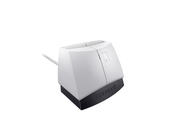 CHERRY SmartTerminal ST-1144 - SMART-Kartenleser - USB 2.0 - Schwarz, weiß