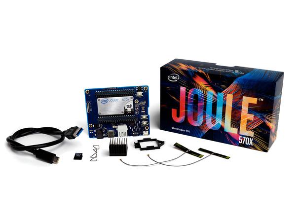 Intel Joule 570x Developer Kit, 1700 MHz, T5700, 2 - 100 pin Hirose, 14 nm, 2,4 GHz, Intel® AtomTM