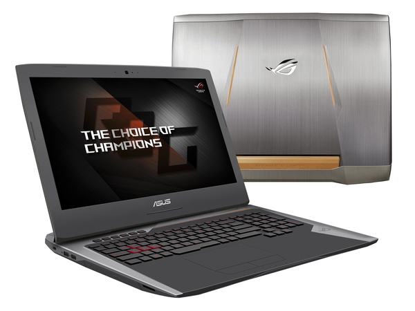 ASUS ROG G752VS GC089T - Core i7 6700HQ / 2.6 GHz - Win 10 Home 64-Bit - 32 GB RAM - 512 GB SSD (2x) + 1 TB HDD - DVD-Writer/Blu-ray