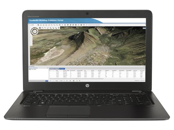 HP ZBook 15u G3 Mobile Workstation - Core i7 6500U / 2.5 GHz - Win 10 Pro 64-Bit - 8 GB RAM - 256 GB SSD HP Z Turbo Drive, NVM Express (NVMe) - 39.6 cm (15.6