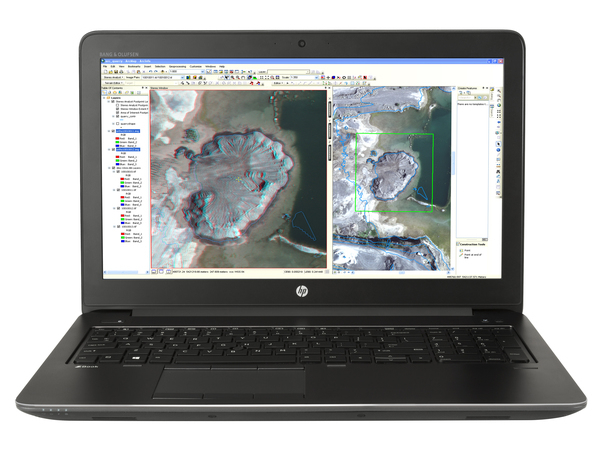 HP ZBook 15 G3 Mobile Workstation - Core i7 6700HQ / 2.6 GHz - Win 10 Pro 64-Bit - 8 GB RAM - 256 GB SSD HP Z Turbo Drive - 39.6 cm (15.6