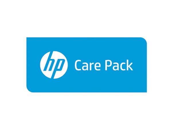 Electronic HP Care Pack - Serviceerweiterung - Arbeitszeit und Ersatzteile - 1 Jahr - Vor-Ort - für Color LaserJet 5550, 5550dn, 5550dtn, 5550hdn, 5550n