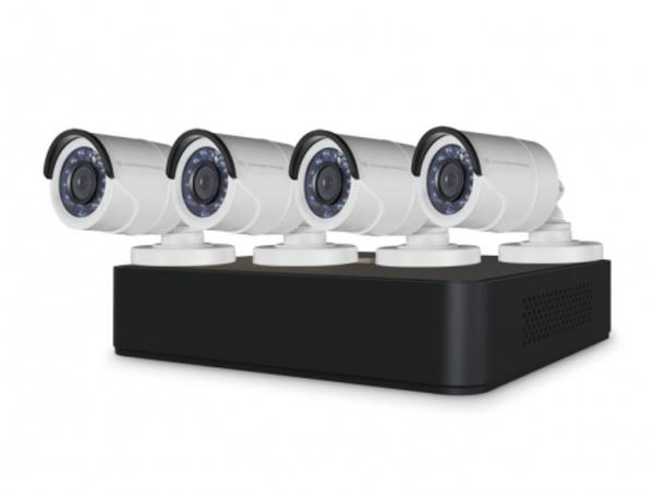 Conceptronic C8CCTVKITD10801TB - DVR + Kamera(s) - 8 Kanäle - 1 x 1 TB - 4 Kamera(s) - CMOS