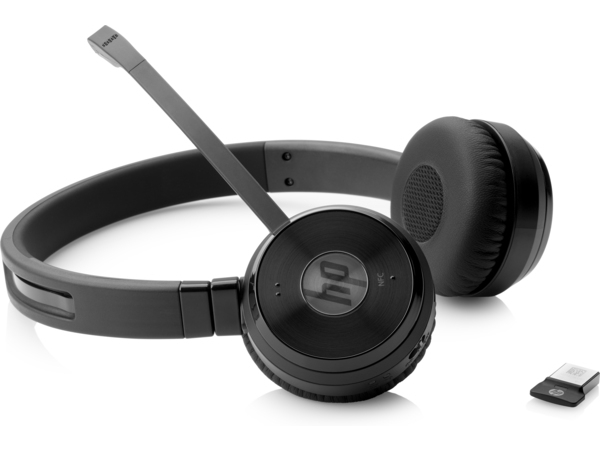 HP UC Wireless Duo - Headset - On-Ear - drahtlos - Bluetooth - NFC