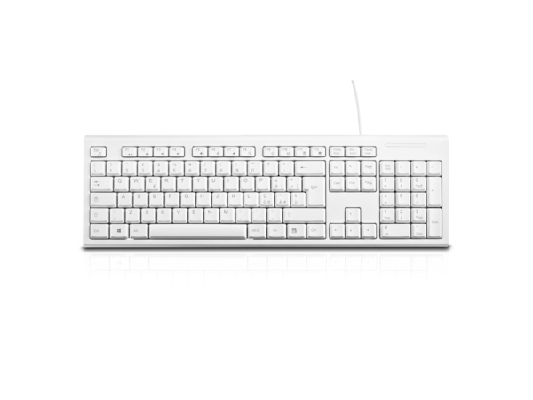 KEYBOARD DESKTOP USB WHITE ITA