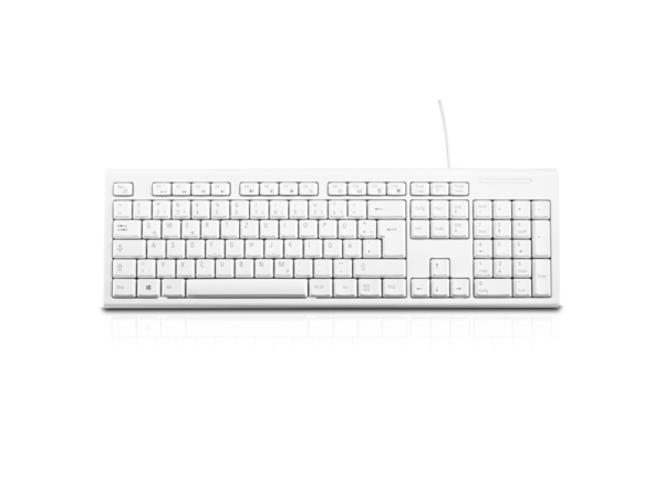 KEYBOARD DESKTOP USB WHITE GER