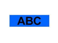 Brother MK531BZ - Schwarz auf Blau - Rolle (1,2 cm x 8 m) 1 Rolle(n) nicht-laminiertes Schriftband - für P-Touch PT-55, PT-65, PT-75, PT-85, PT-90, PT-BB4