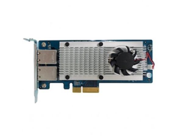 QNAP LAN-10G2T-X550 - Netzwerkadapter - 10Gb Ethernet x 2