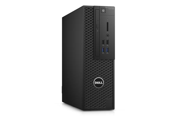 Dell Precision Tower 3420 - SFF - 1 x Xeon E3-1220V5 / 3 GHz - RAM 16 GB - SSD 256 GB - DVD-Writer