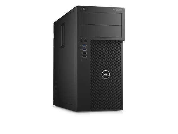Dell Precision Tower 3620 - MDT - 1 x Xeon E3-1245V5 / 3.5 GHz - RAM 8 GB - HDD 1 TB - DVD-Writer