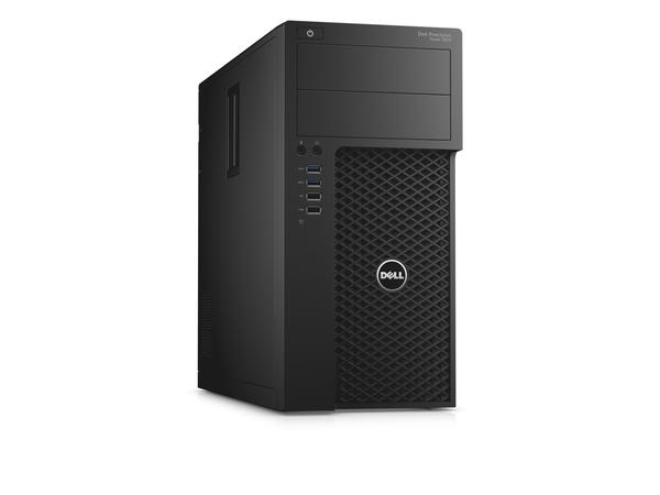 Dell Precision Tower 3620 - MDT - 1 x Xeon E3-1240V5 / 3.5 GHz - RAM 16 GB - SSD 256 GB - DVD-Writer
