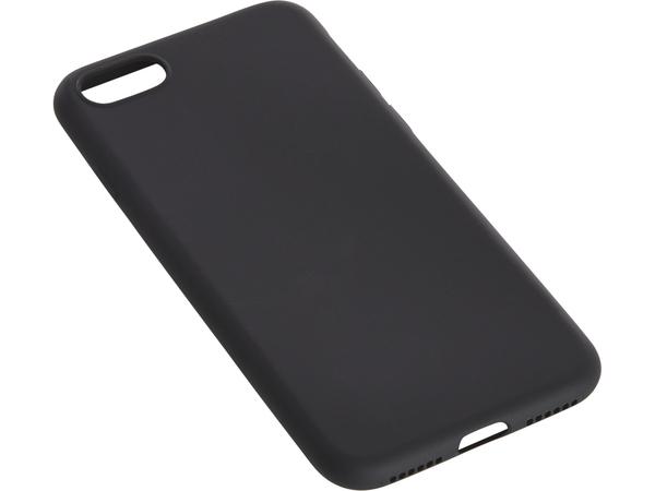 Sandberg Soft - Hintere Abdeckung für Mobiltelefon - Schwarz - für Apple iPhone 7