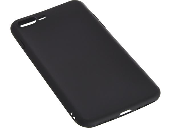Sandberg Soft - Hintere Abdeckung für Mobiltelefon - Schwarz - für Apple iPhone 7 Plus