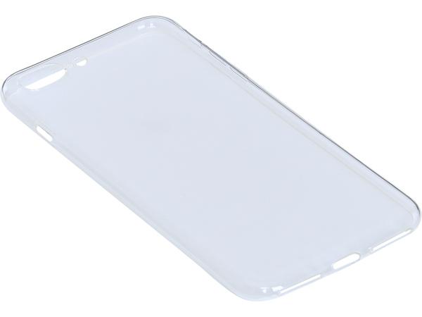 Sandberg Soft - Hintere Abdeckung für Mobiltelefon - klar - für Apple iPhone 7 Plus