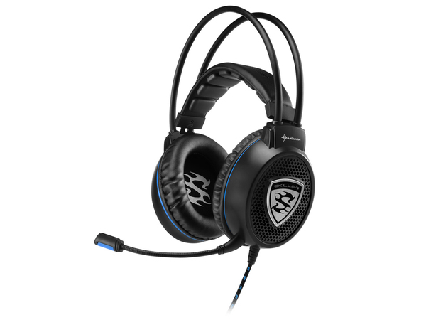 Sharkoon SKILLER SGH1 - Headset - Full-Size - Schwarz, Blau