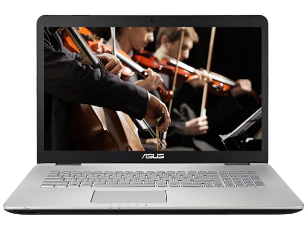 ASUS N751JX-T4039T - Core i7 4720HQ / 2.6 GHz - Win 10 Home 64-Bit - 8 GB RAM - 2 TB HDD - DVD-Writer/Blu-ray
