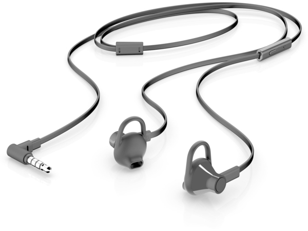 HP 150 - Headset - Ohrstöpsel - Schwarz
