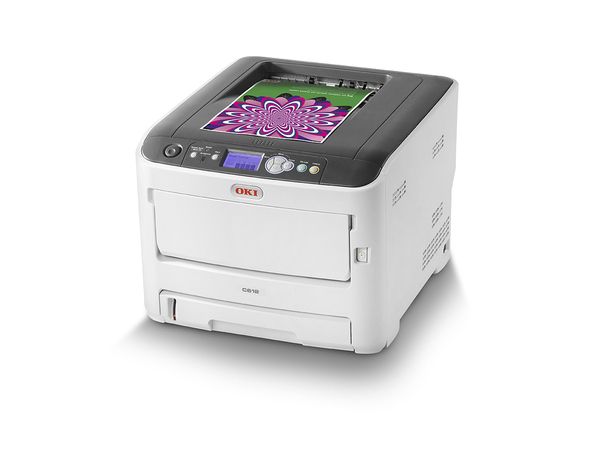 OKI C612n - Drucker - Farbe - optional - LED - A4