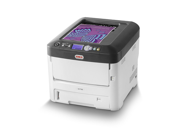 OKI C712n - Drucker - Farbe - LED - A4 - 1200 x 600 dpi