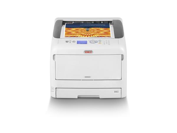 OKI C833dn - Drucker - Farbe - Duplex - LED - A3