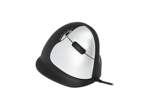 R-Go Tools Break HE Mouse M/L Rechts, USB, Büro, Gedrückte Tasten, Reifen, Optisch, PC/notebook