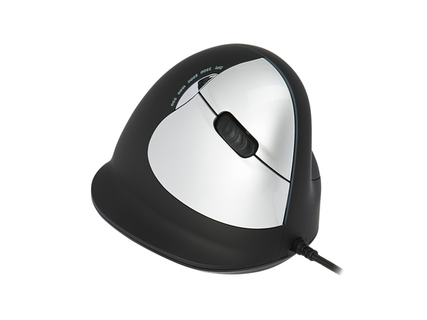 R-Go Tools Break HE Mouse S/M Rechts, USB, Büro, Gedrückte Tasten, Reifen, Optisch, PC/notebook