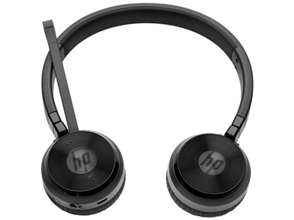 HP UC Wireless Duo - Headset - Full-Size - drahtlos - Bluetooth - NFC