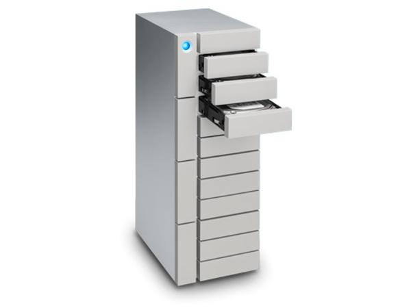 LaCie 12big Thunderbolt 3 - Festplatten-Array - 120 TB - 12 Schächte (SATA) - 12 x HDD 10 TB - USB 3.1, Thunderbolt 3 (extern)