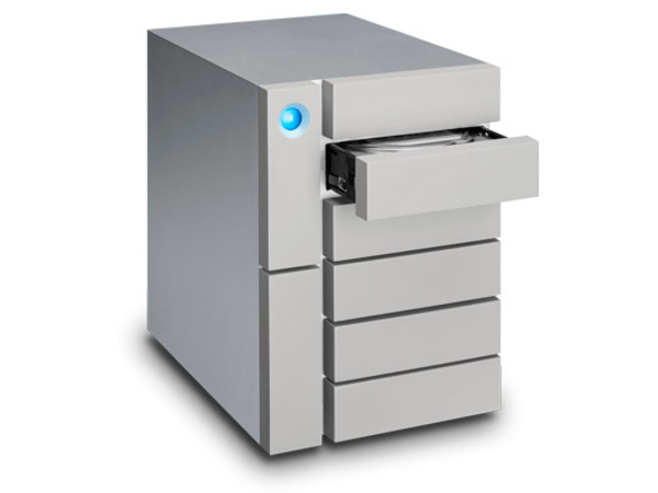 LaCie 6big Thunderbolt 3 - Festplatten-Array - 48 TB - 6 Schächte (SATA) - 6 x HDD 8 TB - USB 3.1, Thunderbolt 3 (extern)