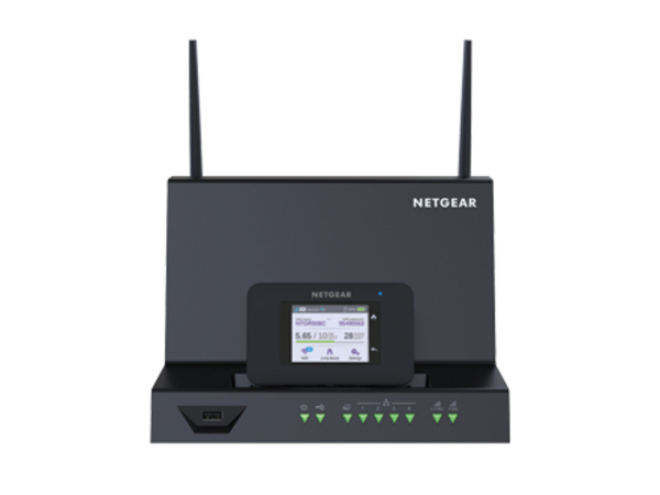 NETGEAR AirCard Smart Cradle - Wireless Router - 4-Port-Switch - GigE - 802.11ac - Dual-Band